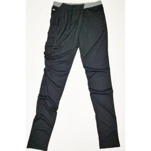 NWT Lacoste sport Merle easy MOV dry black pants